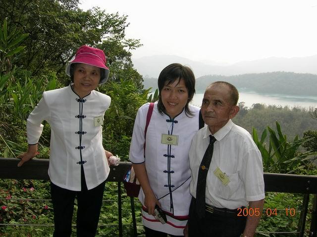 泰國道親到訪孝區(日月潭之旅)