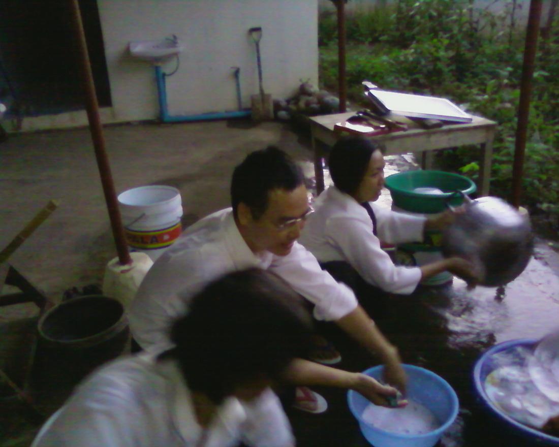 泰國幫善乾元佛堂99年1月份壇主人才班第二天